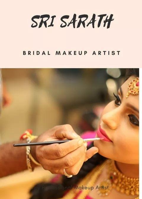 Logo of Bridal Makeup Artist Chennai Sri Sarath 9790788618