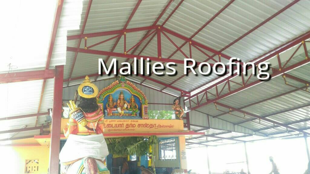 Logo of Mallies Roofing 9500124999