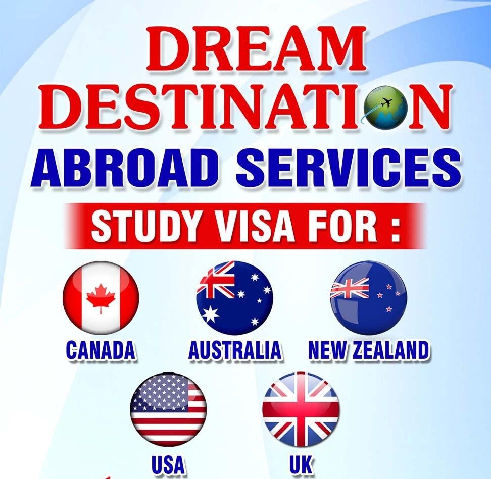 Logo of Dream Destination Abroad Services