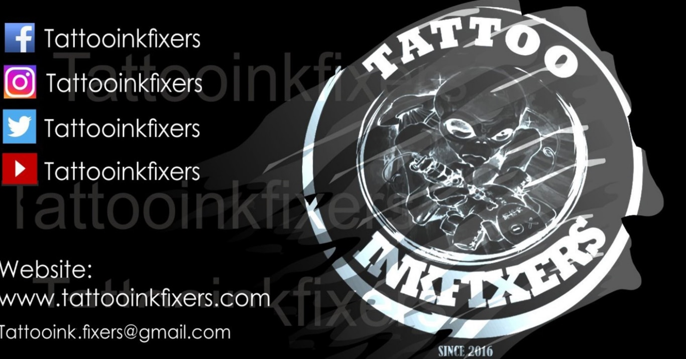 Logo of Tattoo Ink Fixers
