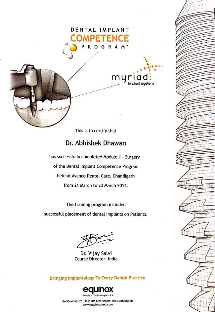 Dr Abhishek Dhawan | Book an Appointment | 08033139650