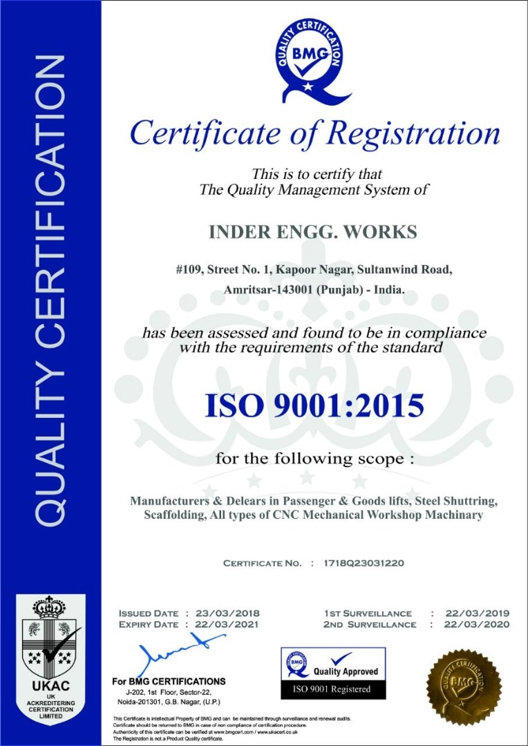 Inder Engg Works