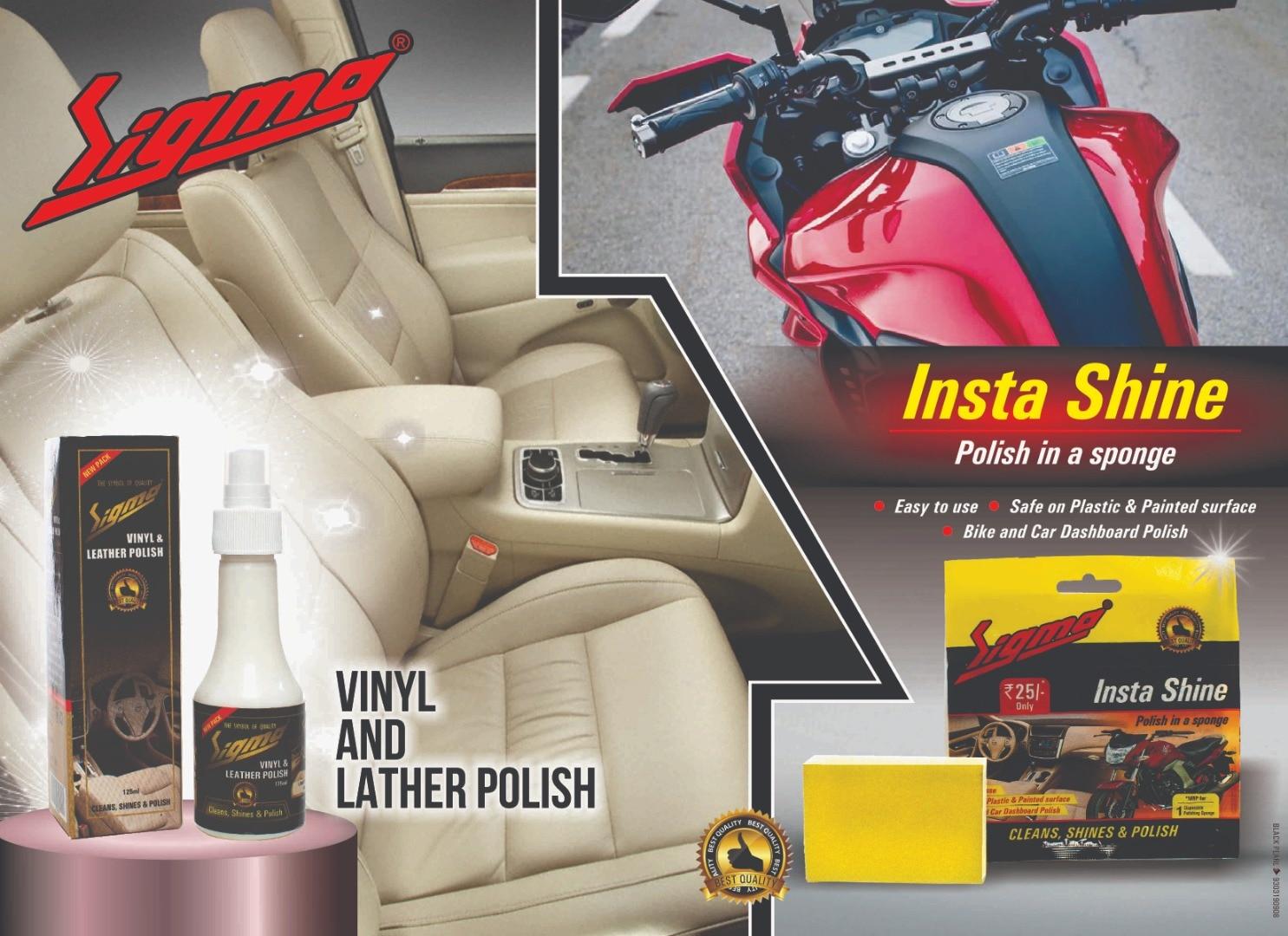 How to make car dashboard polish