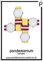 Pandemonium Watch - on trend unisex fashion watches