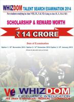 Whizdom Educare | IIT JEE ( Main & Advance ) | AIPMT | NEET | Foundation