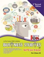 BUISNESS STUDIES BY NITESH BAJAJ