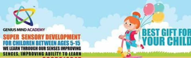 Midbrain Activation | Genius Mind Academy East Delhi