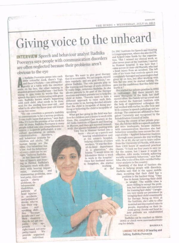 Samvaad Speech And Hearing Clinic