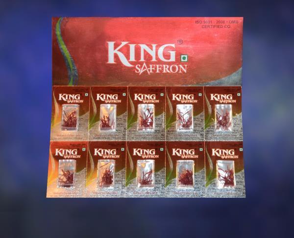 KINGS SAFFRON - 100% Pure Saffron Providers in Kashmir -                    9018339900