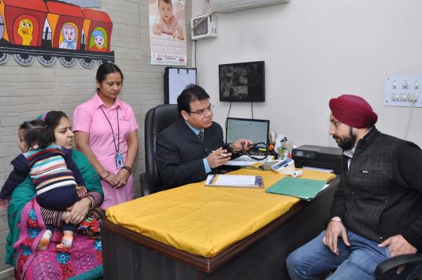 DR.SANJAY K JAIN-CHILD SPECIALIST