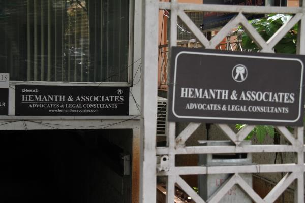 Hemanth & Associates, Advocates