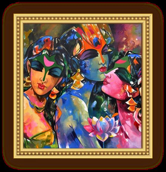Rajan Maaluja - Famous Portrait Painting Artist