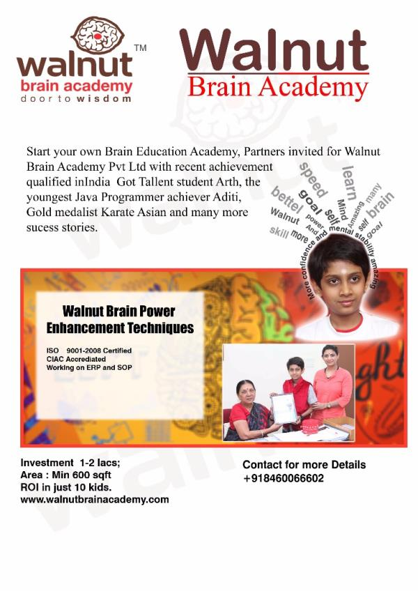 Walnut Brain Academy Pvt. Ltd.