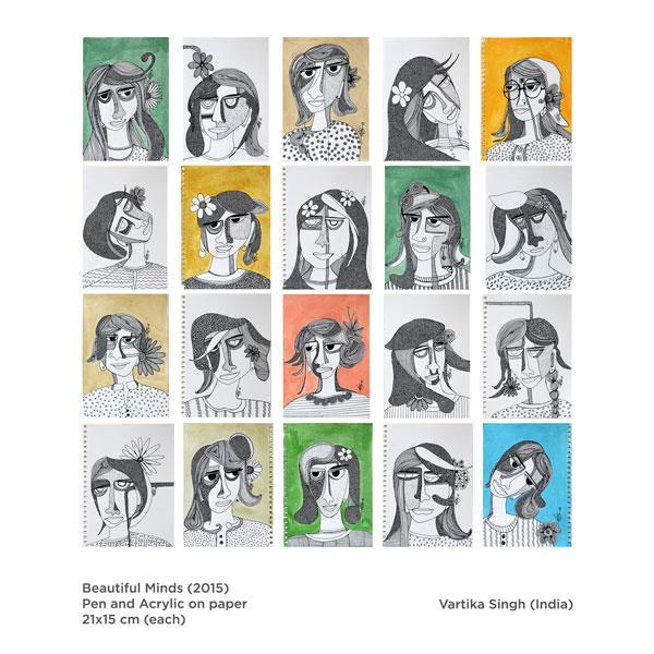 Artist Vartika Singh