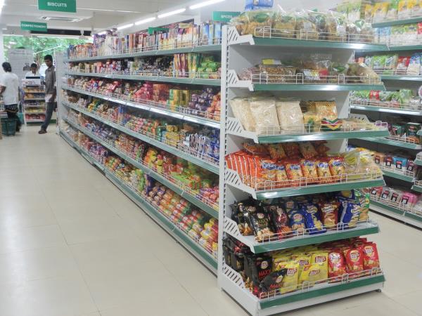 Supermarket Racks In