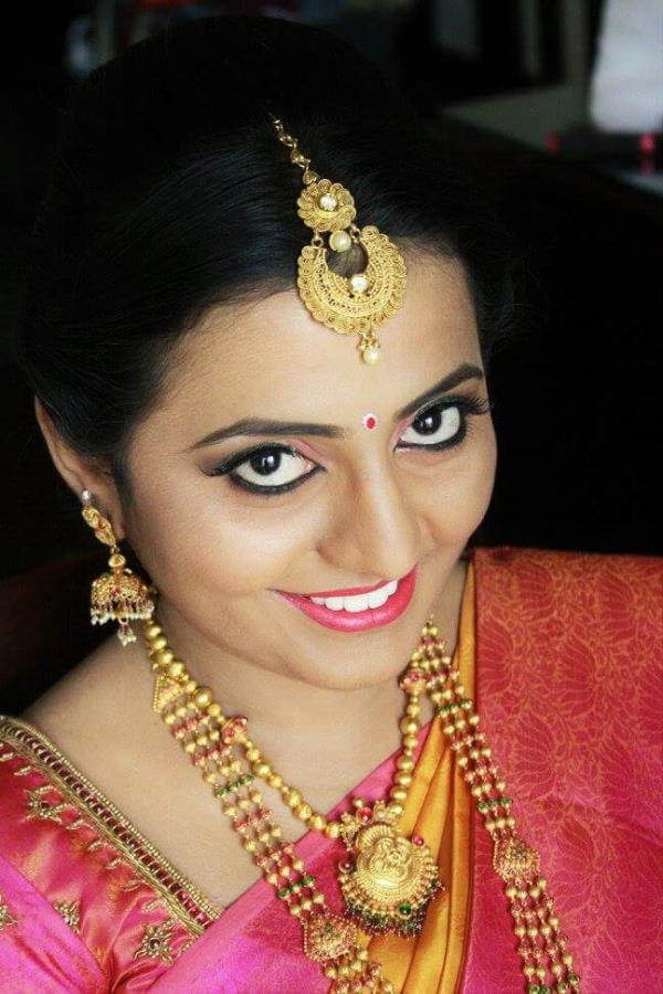 BRIDAL MAKEUP- PARTHA MAKEUP 9940387979. Top Cine Bridal Makeup
