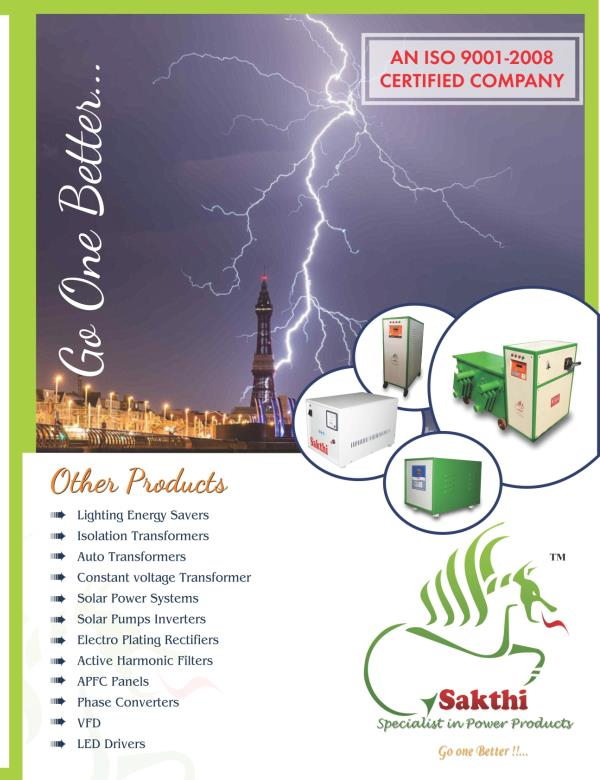 about SAKTHI ELECTRICAL CONTROL
