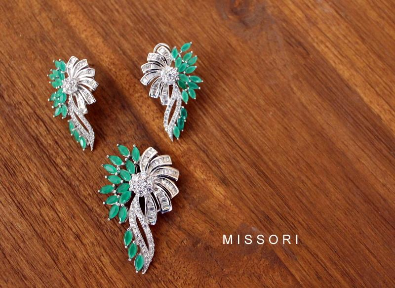 Missori Jewels : Handcrafted Sterling Silver Earrings