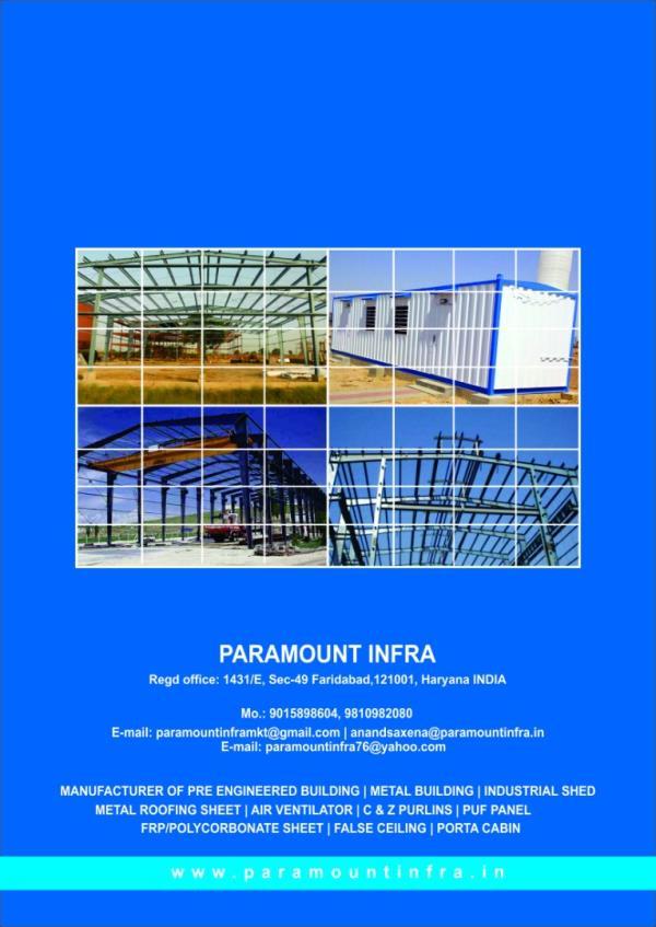Paramount Infra - 9015898604