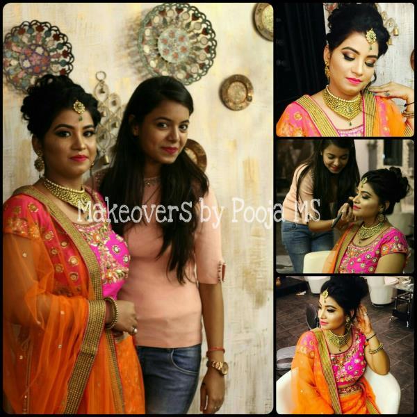 Makeup Artist Pooja MS  9999988868