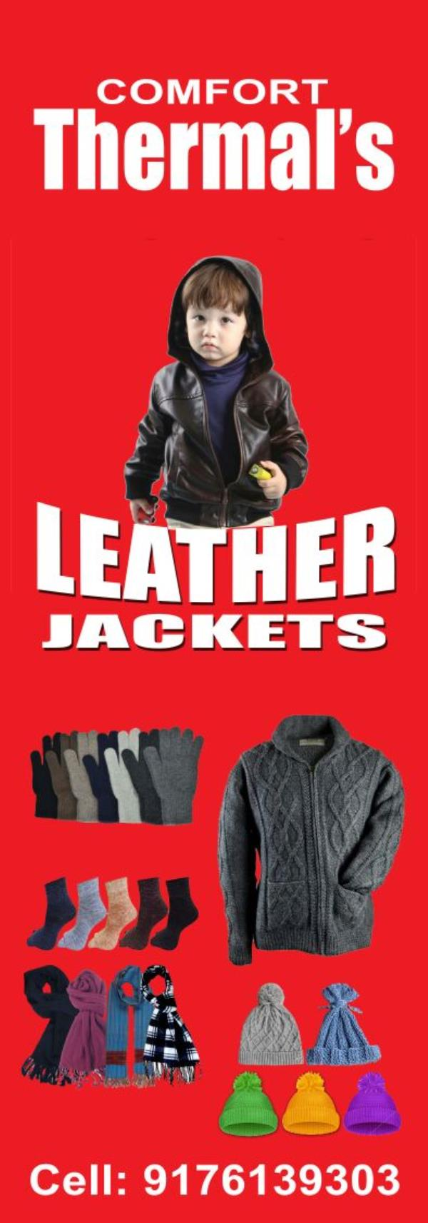 Comfort Thermals and Leathers
