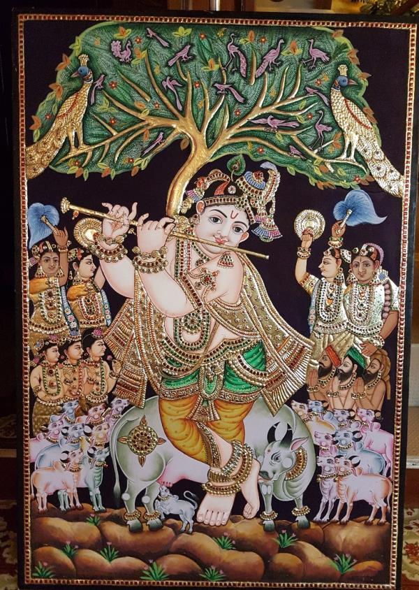 Premalatha Tanjore Paintings
