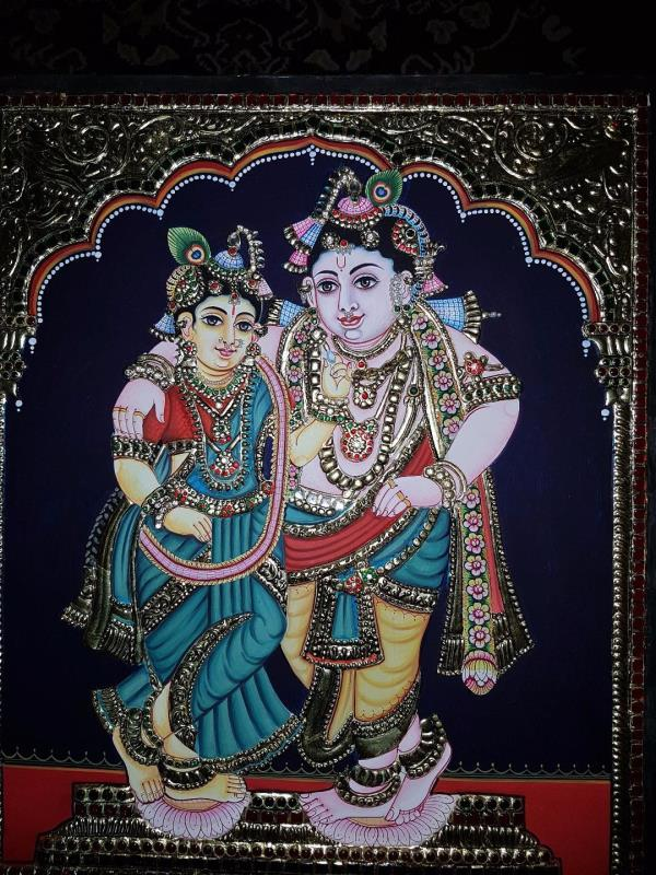 Premalatha Tanjore Paintings