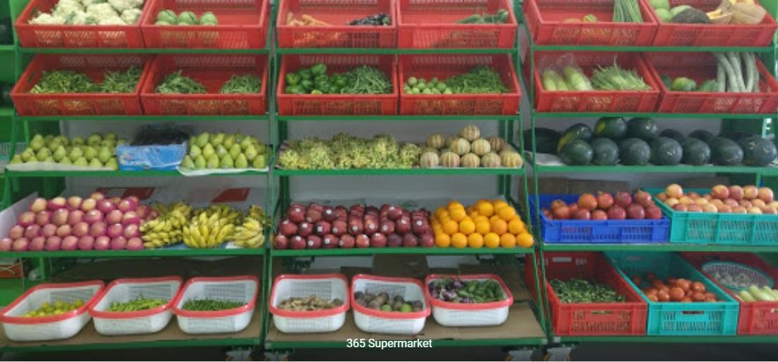 365  Supermarket  : 9820182050