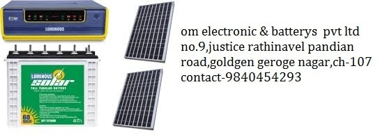 OM ELECTRONICS AND BATTERIES PVT LTD