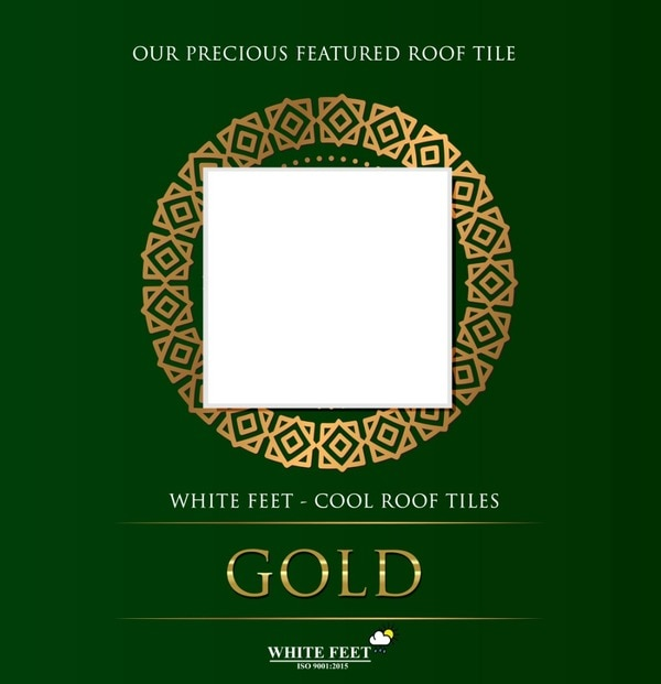 White Feet  | CALL: 9884520001 | Cool Roof Tiles in Chennai