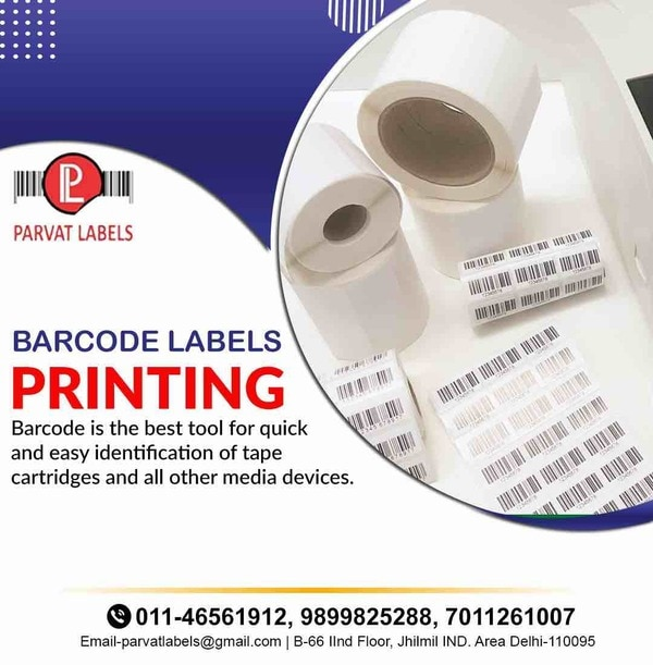 about PARVAT LABELS MFG OF BARCODE LABELS